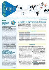 Registre des cancers Bulletin d'information n°6, Décembre 2018