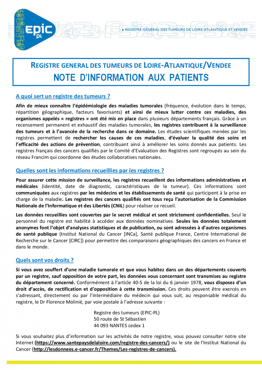 Note info patient