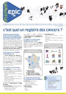 Registre des cancers Bulletin d'information n°1, Décembre 2008