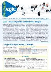 Registre des cancers Bulletin d'information n°3, Décembre 2012