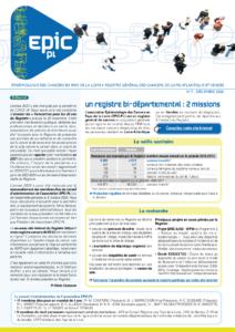 Registre des cancers Bulletin d'information n°7, Décembre 2020